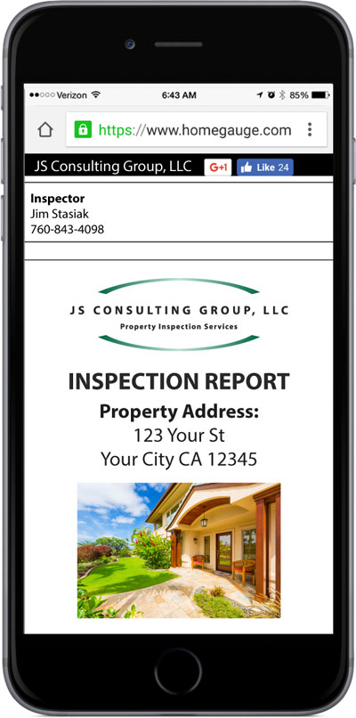HomeGauge CRL Digital Inspection Report